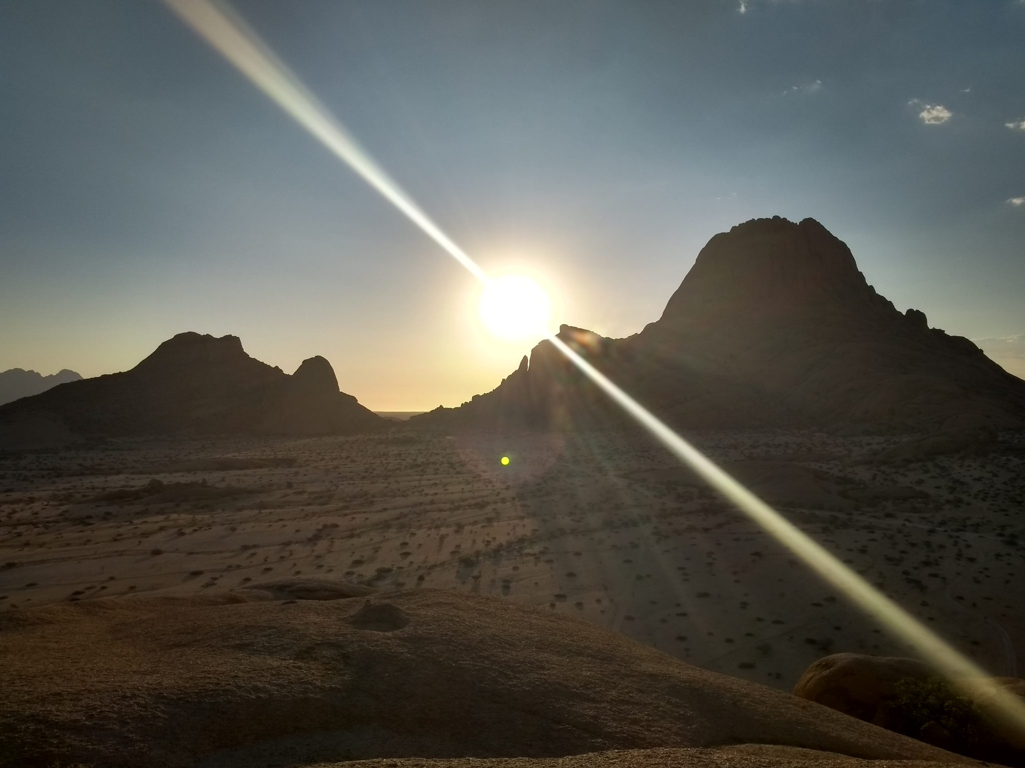 Sunset in Spitzkoppe