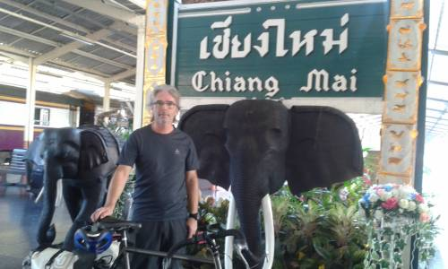 just arrived in Chiang Mai