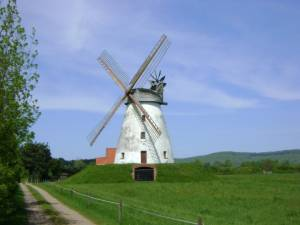 Windmühle in Norddeutschland