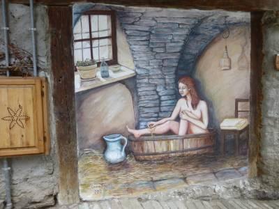 Murales in Usseaux