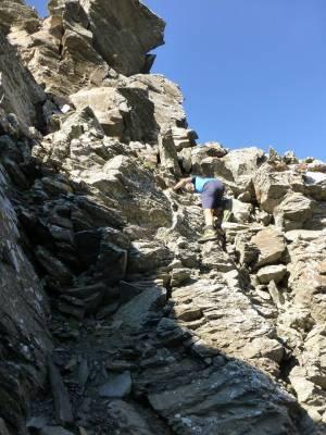 kleine Kletterei am Col Bucie