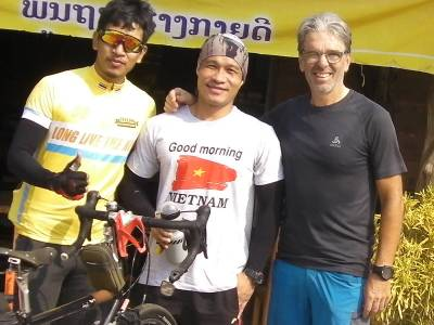 Thaibikers auf Wochenausflug