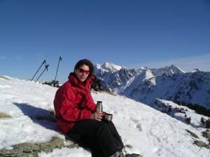 Brigitte auf dem Stockberg